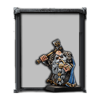 Dwarf Thane with Hand Weapon
