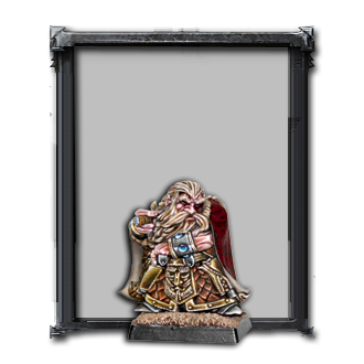 Dwarf Thane with pistol