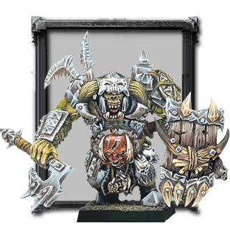 Iron Black Orc Warlord (kit)