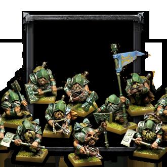 Dwarf Rangers regiment