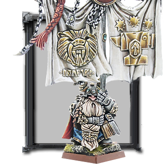 Dwarf Battle Standard Bearer