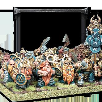 Enanos Guerreros del Clan