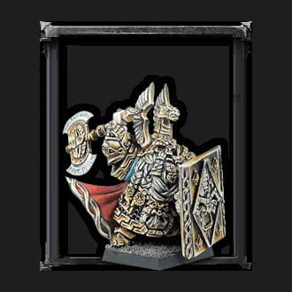 Señor del Clan con escudo...